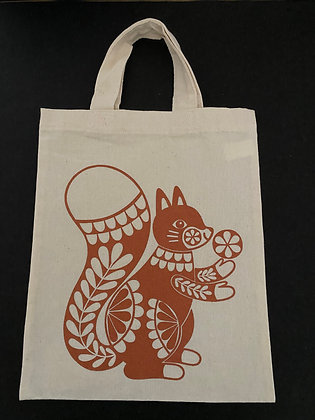 Squirrel Totebag - Small & Large