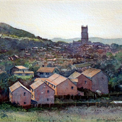 Ludlow from Gallows Bank