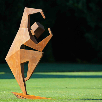 A Work of Art: Poise and Tension III
