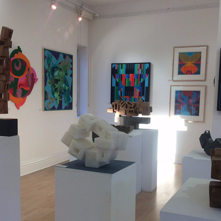 Behind the scenes at the Equivalent 8 exhibition….
