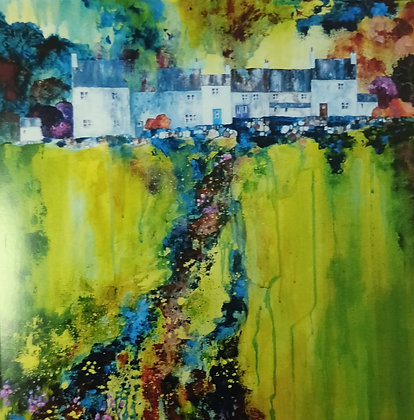 Tower Hill Terrace, Rainow, Cheshire Card