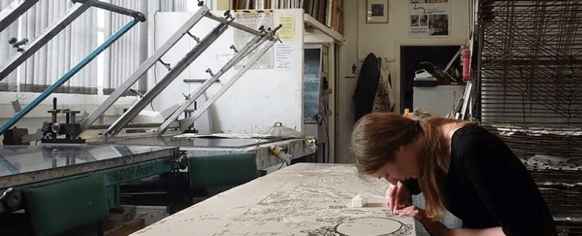 About Fae Kilburn - printmaker and fine artist. Fae Kilburn prints.