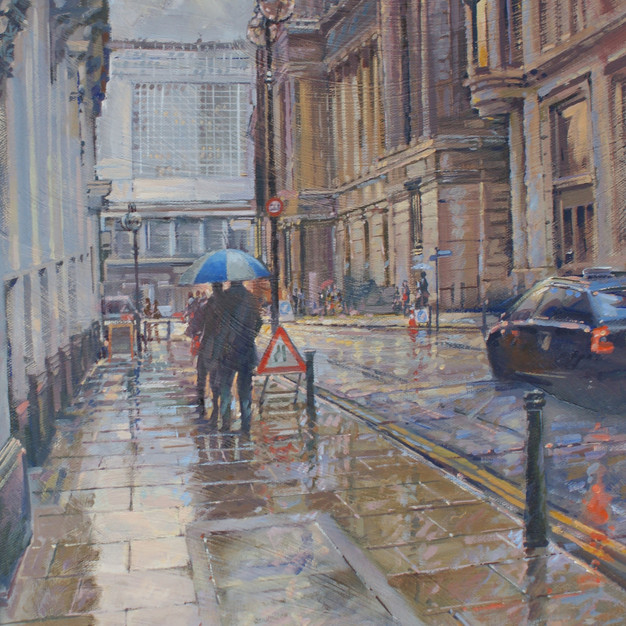 Wet Day Colmore Row