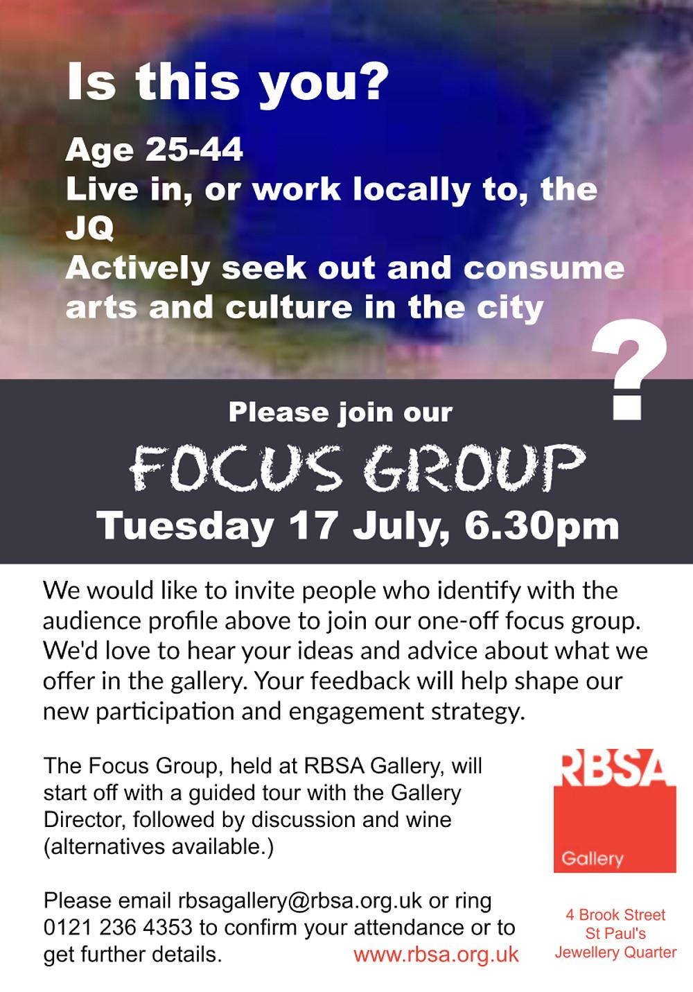Posterflyer RBSA