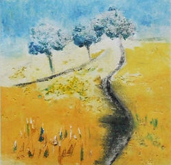 3 trees collagraph LNevill.jpg