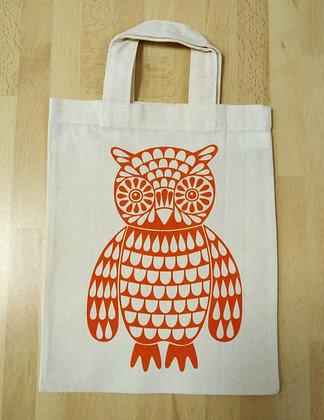 Small Owl Tote Bag