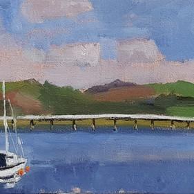 David George RBSA, Toll Bridge, Penmaenpool