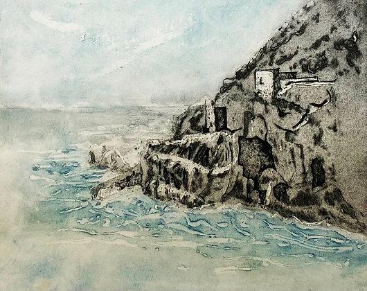 Silver Tin Coast Print, Linda Nevill