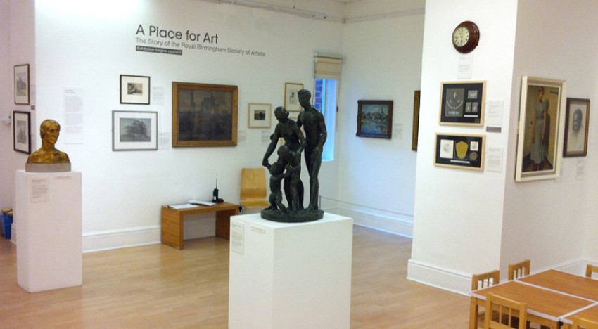 A Place for Art exhibition, RBSA Gallery.  Photo credit: Felicia Guingouain
