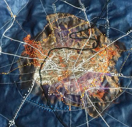 Textile artists interpreting the city