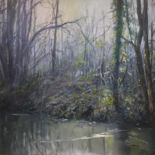 Carol Hill, Winter Mist - Cromford Canal, Derbyshire, £2200