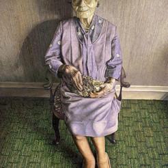 My Grandmother, Mrs Doris Tompkins, 87 years young