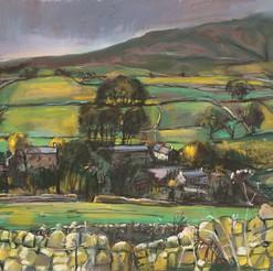 Moorland Village, Yorkshire