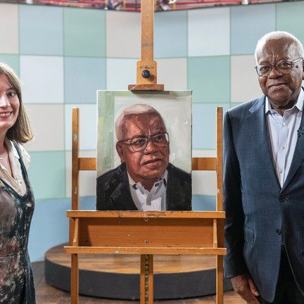 Francesca Currie RBSA shares experience of Sky Arts Portrait Artist of the Year