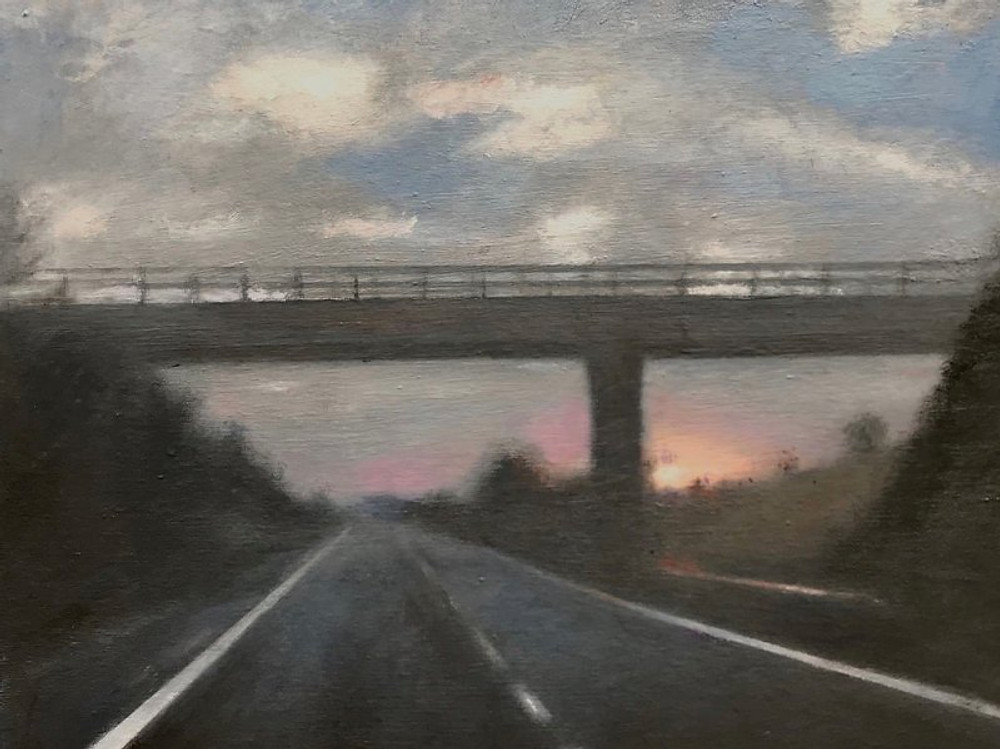 Timothy Gatenby, 'Crawling down the Hard Shoulder'
