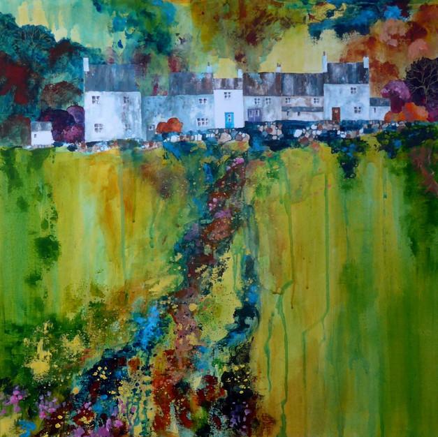 Tower Hill terrace, Rainow, Cheshire