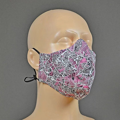 Face Mask & Bag - London Fields