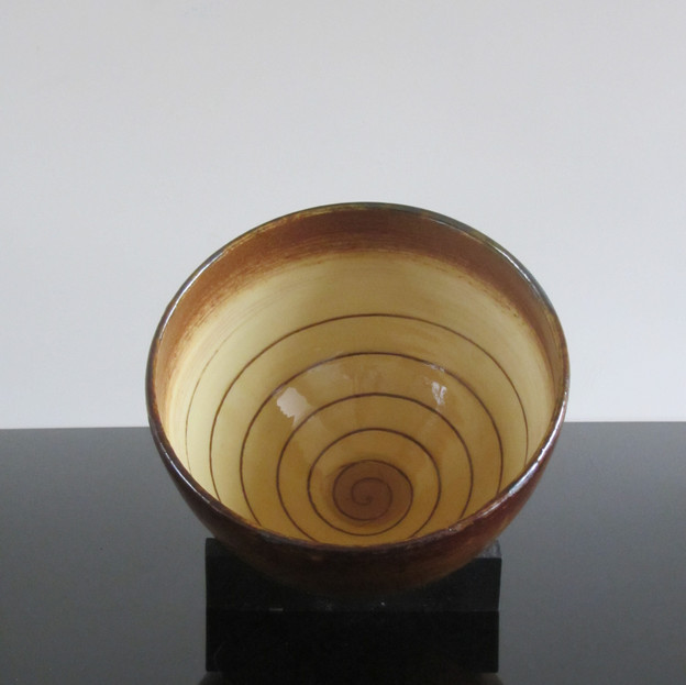Bowl With Spiral 2