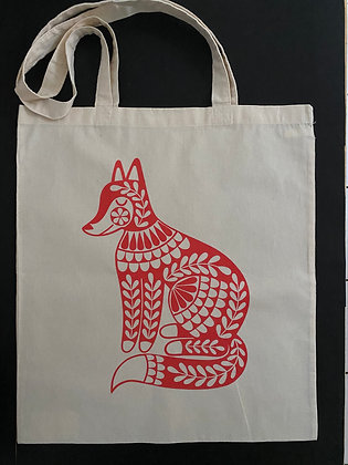 Fox Totebag - Small & Large