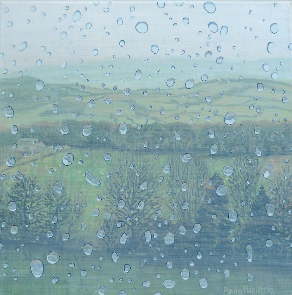Paula Hamilton, 'Through Raindrops'