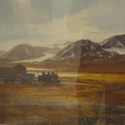 Coal Train, Nyalesund, Spitsbergen