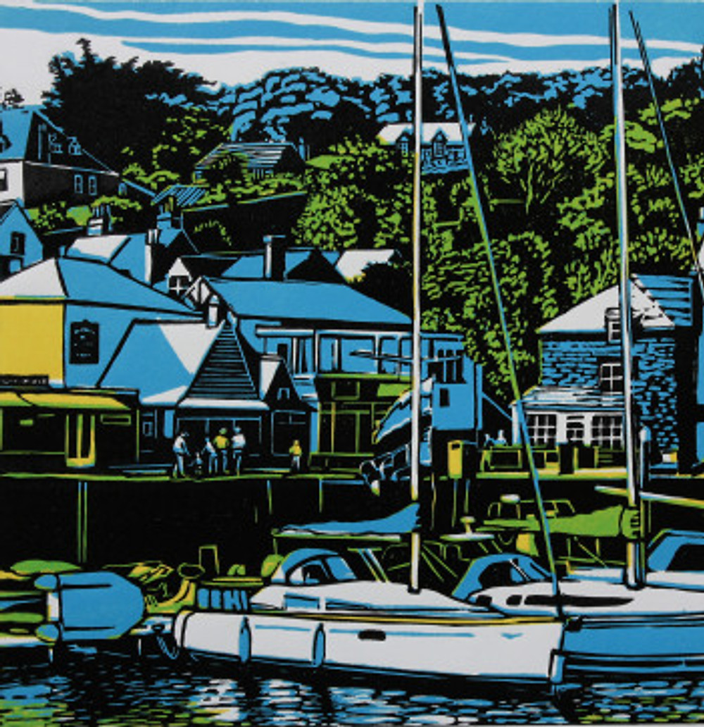 David White, 'Padstow Harbour'