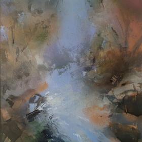 Brian Steventon RBSA, Autumn Light - Hoo Brook