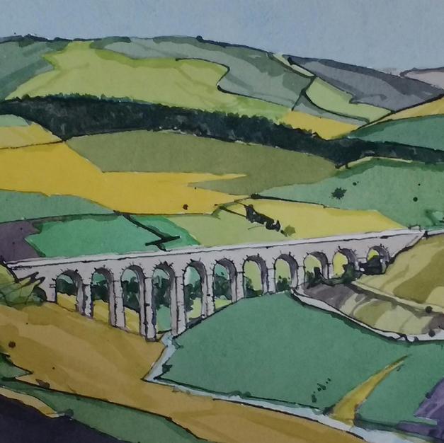 Arten Gill Viaduct, Settle and Carlisle Line