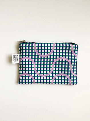 Lilac Waves Coin Purse