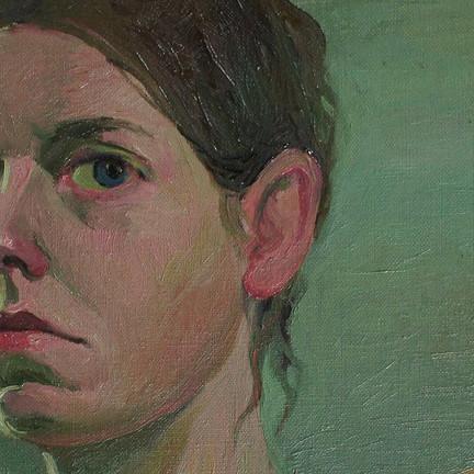 Katia Kesic 'Self-portrait' and 'Self-portrait of Masha'