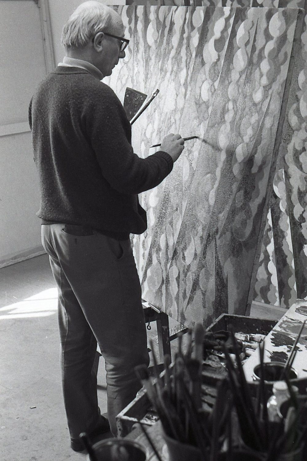 Studio, Edgbaston, 1973 (photo David Gear) (2)