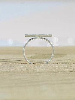Silver Bar Ring