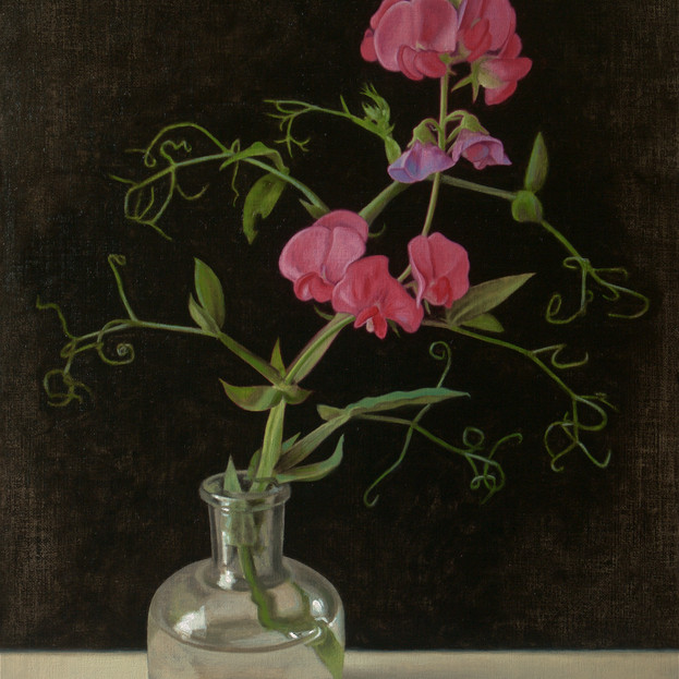 Alex Callaway, Wild Sweet Pea in a Bell Jar, £950