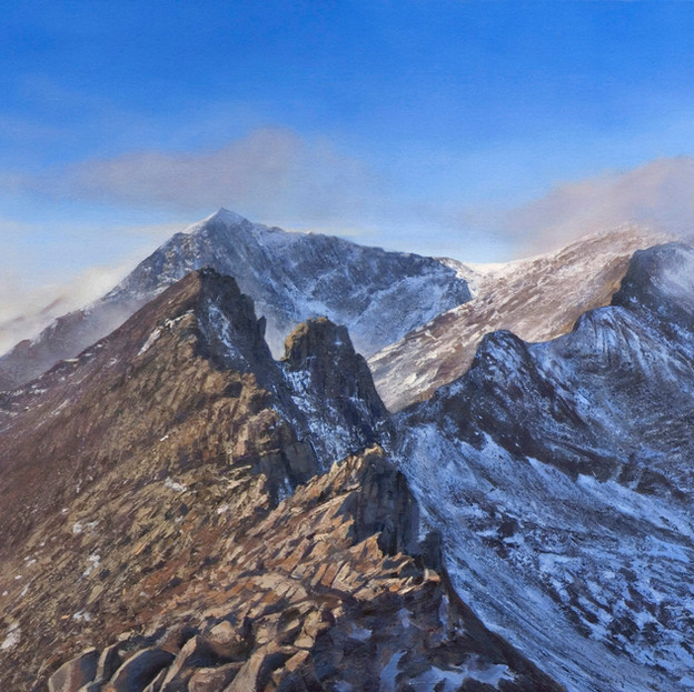 D.J, Crib Goch and the Snowdon Horseshoe, £3500