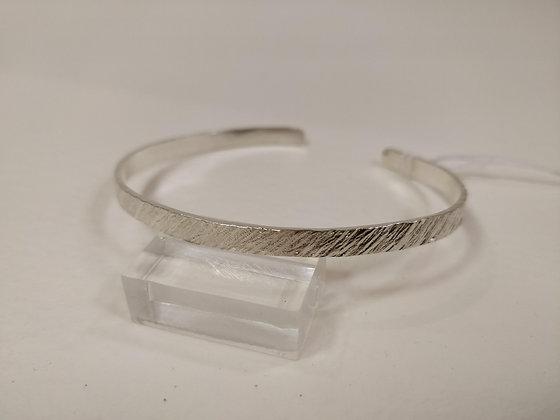 Silver Bangle - Wider