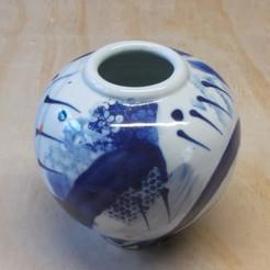 Blue & White Pot
