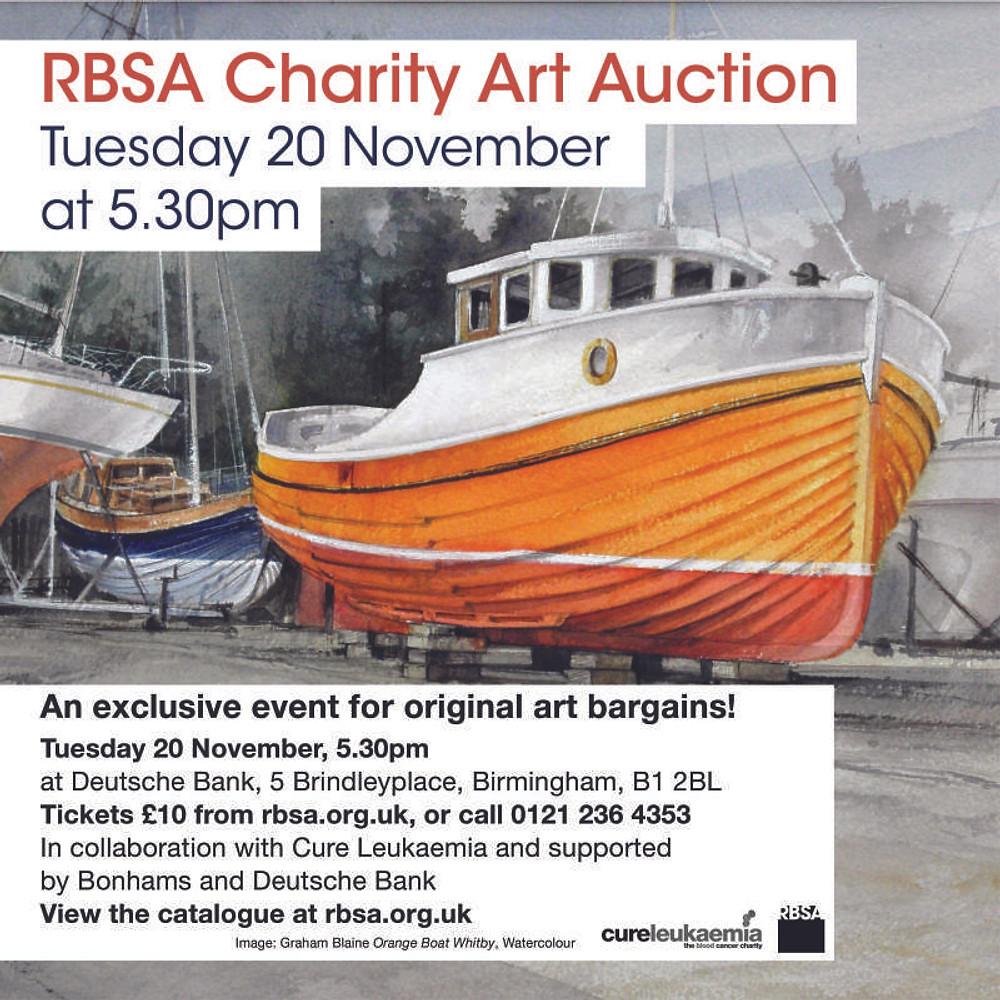 RBSA Auction flyer. web