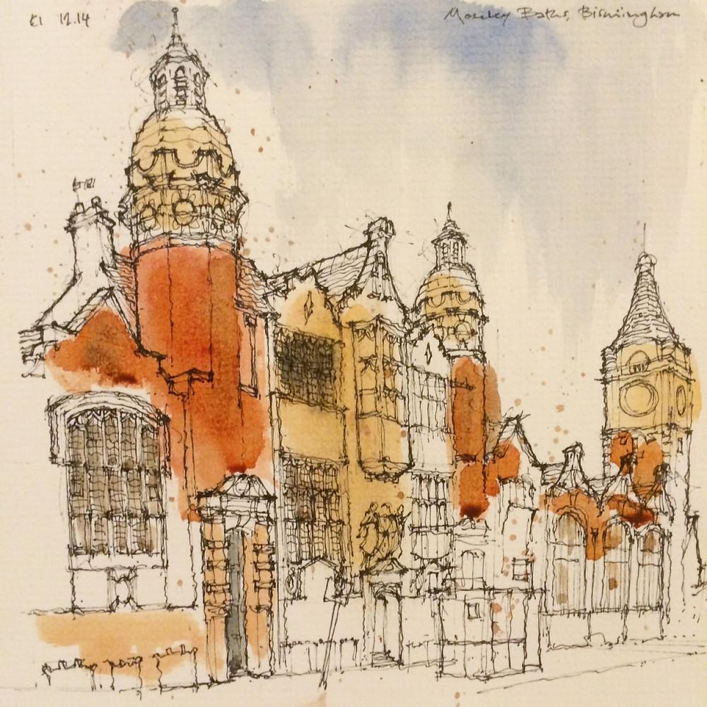 Moseley Road Baths by Ed Isaacs