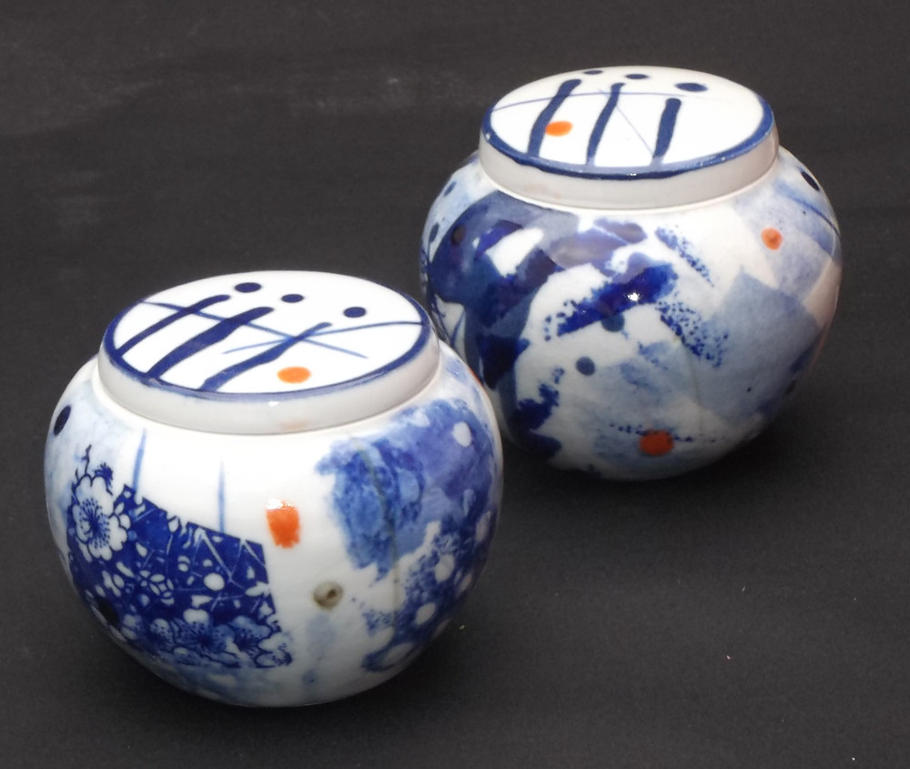 small ginger jars