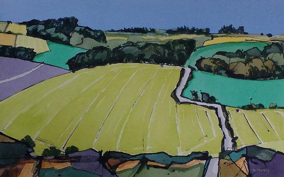 West Sussex Landscape, Nigel Priddey