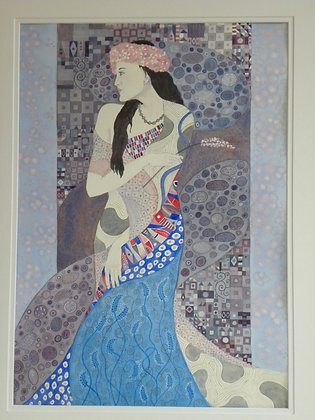 Homage to Colleen and Klimt Card