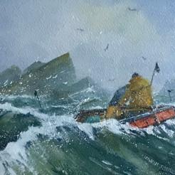 Gull Rock Cornish Coast