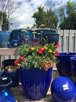 Blue Custom Container