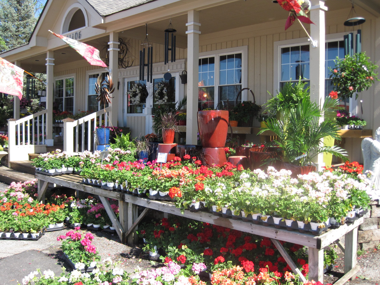 Garden Center Allisonville Nursery Home