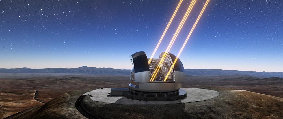 E-ELT Atacama telescope - Cile