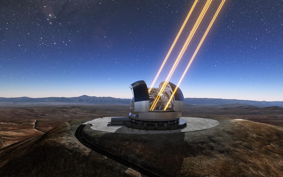 Telescopio E-ELT Atacama - Cile