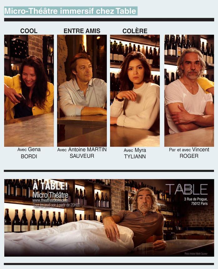 A TABLE ! Le retour Le 07/09/17