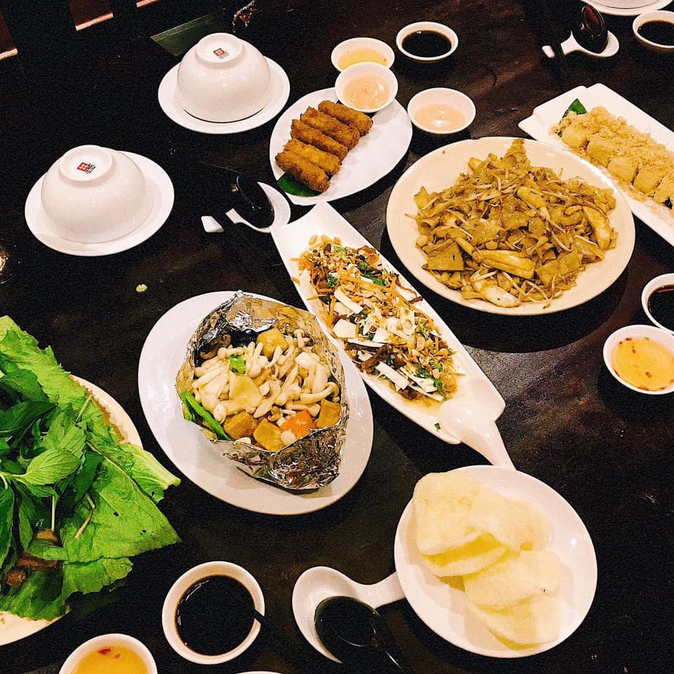 nhà hàng chay, nhà hàng chay quận 5, nhà hàng chay tphcm, nhà hàng chay ngon, món chay, đồ chay