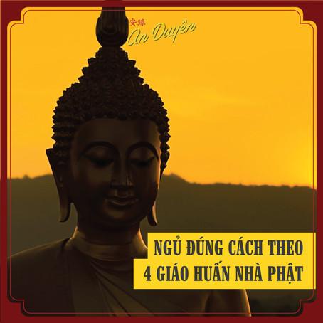 SỐNG XANH - Ngủ đúng cách theo 4 giáo huấn nhà Phật