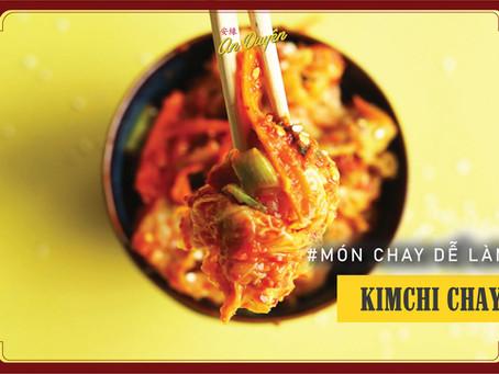 MÓN CHAY DỄ LÀM - Cách Làm Kimchi Chay Đơn Giản Tại Nhà